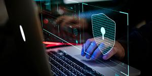 Security experts warn companies not to think separately about possible intellectual property theft and cyber attack threats, as they could be one in the same. Credit: Shutterstock/Rawpixel