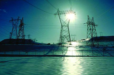 Electrical transmission towers and lines carry power across Oregon from the Dalles Dam on the Columbia River. The nation's critical infrastructure increasingly may be vulnerable to attack through supervisory control and data acquisition (SCADA) systems.