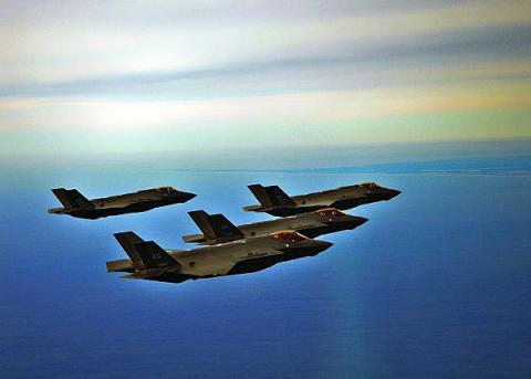 U.S. Air Force F-35s offer the potential to serve as nodes in an Air Force network. But, limited resources hinder the evolution of Air Force networks as demands increase.