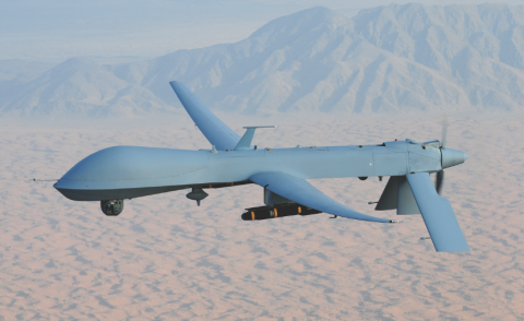 The Gorgon Stare sensor system is being mounted in Afghanistan on USAF/General Atomics Aeronautical Systems MQ-9 Reaper unmanned aerial vehicles (UAVs). This system from Exelis and Sierra Nevada Corporation can zoom in on and transmit up to 64 different images to soldiers on the ground.