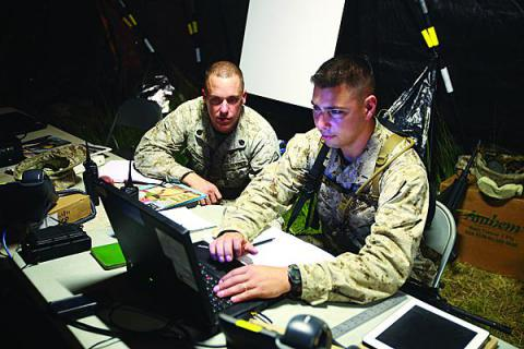 As Marines develop their private cloud, they are focusing on ensuring the right access for the right people. Other areas of consideration are thin-client initiatives and providing more services on mobile devices.