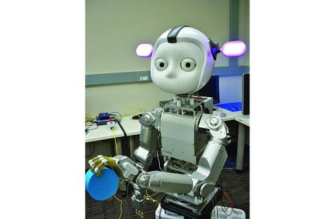 Simon the robot was developed by Georgia Tech researcher Andrea Thomaz, whose research is funded by National Science Foundation. Researchers foresee a future where any or nonprogrammer could buy a robot, take it home and instruct it to perform common tasks, such as clearing the dinner table.