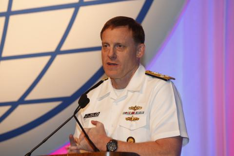 Adm. Michael S. Rogers, USN, commander, U.S. Cyber Command, outlines what the command needs from industry.