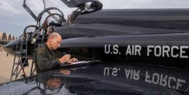 Gen. Mike Holmes, USAF, retires as Air Combat Commander on August 28. Credit: Air Combat Command