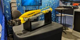 The U.S. Government has granted Aquabotix an explosives license to use with unmanned aquatic vehicles. Photo credit: Aquabotix Ltd.