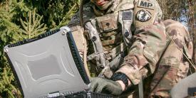 The wearable authentication tokens will enable soldiers at every echelon to prove their identity when operating systems, devices and applications on the Army tactical network. Credit: Spc. Dustin D. Biven, USA, 22nd Mobile Public Affairs Detachment