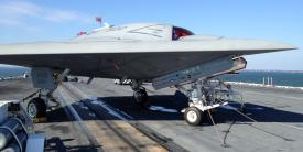 The U.S. Navy's MQ-25 Stingray is one example of the Defense Department's pursuit of autonomous systems.