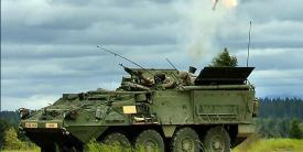 The U.S. Army's organic industrial base helps equip the force with a wide range of equiment, including Stryker vehicles.