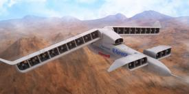 Technology developed under DARPA's Vertical Lift and Takeoff Experimental Plane program has gained approval to transition to the commercial sector. Photo credit: Aurora Flight Sciences
