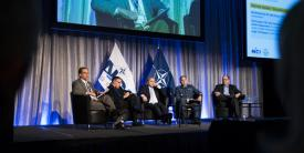A panel discussion examines innovation as a security imperative at NITEC 2017 in Ottawa.