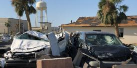The U.S. Air Force is adding first responder network capability to 15 of its bases, which will help public safety personnel communicate during operations or emergencies, such as weather-related disasters, like Tyndall faced in 2018 with Hurricane Michael. Credit: Staff Sgt. Alexander Henniger