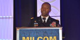 Lt. Gen. Bruce Crawford, USA, the Army CIO/G-6, is turning his attention to the service's enterprise. Credit: Katie Helwig/AFCEA