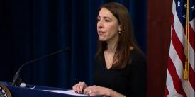 Danielle Metz, acting deputy CIO for information enterprise, outlines obstacles the Defense Department faces in implementing rapid technology development and fielding processes.