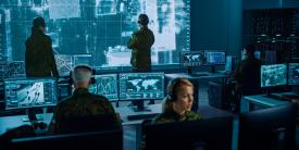 Connecting data siloes within the Defense Department helps speed operational decision making. Credit: Shutterstock/Gorodenkoff