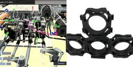 """UAT is producing a new class of military-grade lightweight thermoplastic clamps for avionics and electrical wiring needs as well as """"smart"""" sensing clamps that report real-time data and identify problems in wiring."""