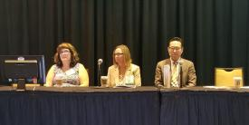 Panelists discuss identity intelligence at the Federal Identity Forum and Expo. Credit: Shaun Waterman