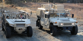 The Department of Defense has selected a mobile power program from Army Futures Command to increase the speed at which on-the-move power capabilities are delivered to the battlefield. Credit: Army photo by Dan Lafontaine, CCDC C5ISR Center Public Affairs