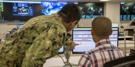 Members of the JFHQ-DODIN Operations Center (JDOC) support and enable proactive defensive actions on a 24/7 basis, sharing timely and relevant operational information and intelligence with Defense Department components and partners.