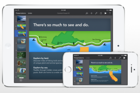 Keynote app for iPad and iPhone