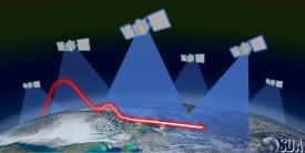 The Space Development Agency has awarded contracts to L3 Harris and SpaceX for the tracking layer of National Defense Space Architecture for hypersonic glide vehicle detection. Credit: SDA