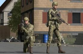 The VRLT's Avatar customization capability enables the British Army to replicate facial features and body shapes so soldiers can recognize friendly troops. (Photo by BiSim)