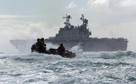 The U.S. Navy is shifting the NGEN-R primary contracts award schedule by a few months to allow more interaction with industry.