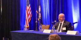 The U.S. Marshals Service, the nation's first federal law enforcement agency, works to protect the judicial process, apprehend fugitives and transport federal prisoners, and needs advanced digital technologies that can keep up, says CIO Karl Mathias. Credit: AFCEA NOVA