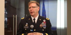 The U.S. Army Futures Command will be the first location for the service's foray into Enterprise IT As A Service, according to Lt. Gen. Stephen Fogarty, USA, commanding general, Army Cyber Command. Credit: Anna Neubauer