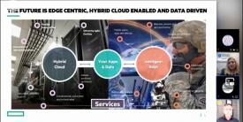 The future enterprise will be edge-centric, cloud enabled and data driven, says Bill Burnham, CTO, U.S. Public Sector Business Unit, Hewlett Packard Enterprise.