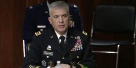 """Adversaries are no longer merely launching attacks from their part of the world, says Gen. Paul Nakasone, USA, commander, U.S. Cyber Command, testifying before Congress on March 25. """"They can come in the United States and use our infrastructure, and there is a blind spot for us not being able to see them,"""" he warns."""