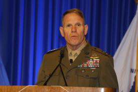 Lt. Gen. Robert S. Walsh, USMC, commanding general, Marine Corps Combat Development Command, outlines Marine Corps efforts to out-innovate adversaries