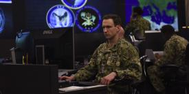 Sailors stand watch in the Fleet Operations Center at the headquarters of U.S. Fleet Cyber Command/U.S. 10th Fleet. The Navy has created a new special assistant position to coordinate service cyber efforts ranging from strategy to security. (Photo Credit: U.S. Navy Photo)
