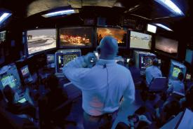 Emergency responders not only can enjoy common situational awareness from consolidated data sources, they also can simulate how an emergency may be unfolding and deploy forces accordingly.