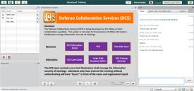 DISA's photo illustration of its new online collaboration tool for secure web conferencing.