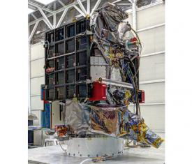 DSCOVR spacecraft at NASA's Goddard Spaceflight Center, Greenbelt, Maryland.