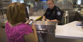 Officers with U.S. Customs and Border Protection (CBP) will use facial recognition technology at airports to verify the identity of U.S. citizens returning from foreign travel.