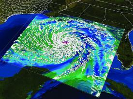 The Texas Advanced Computing Center has supported research to develop next-generation hurricane models. Environmental science and technology is one area of research that could benefit from big data initiatives.