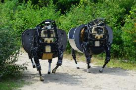 DARPA has developed a variety of robotic systems, including the Boston Dynamics Big Dog, though traditional developers. The RFT effort aims to engage developers who do not usually work with the government.