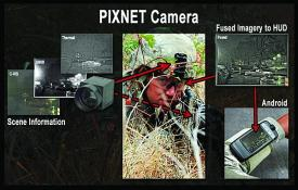 DARPA's Pixel Network for Dynamic Visualization (PIXNET) program is developing new sensor technology to improve soldiers' night vision capabilities.