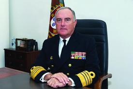 Adm. Jose Saldanha Lopes, PON, is the chief of the Portuguese Naval Staff.