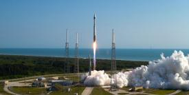 A United Launch Alliance Atlas V launches a National Reconnaissance Office payload into orbit last year. The Office of the Director of National Intelligence is seeking to mine new intelligence technologies in government and the private sector by creating an overarching partnership among all elements of the intelligence community.