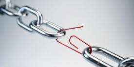 The greatest threat to the global electronics supply may be a break at a weak point in the chain.  Shutterstock/Sashkin