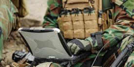 Forces deployed around the world need the ability to transmit securely on their networks.