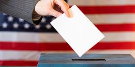 The Department of Homeland Security's Cybersecurity and Infrastructure Security Agency put in place a cyber situational awareness room on Tuesday to support state and local governments' voting primaries. Credit: Shutterstock/Melinda Nagy