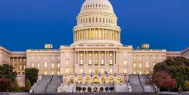 The U.S. House of Representatives, led by Democrats, passes its version of the annual defense spending authorization bill, which will have to be ironed out with the Republican-led Senate. Credit: Shutterstock/Turtix