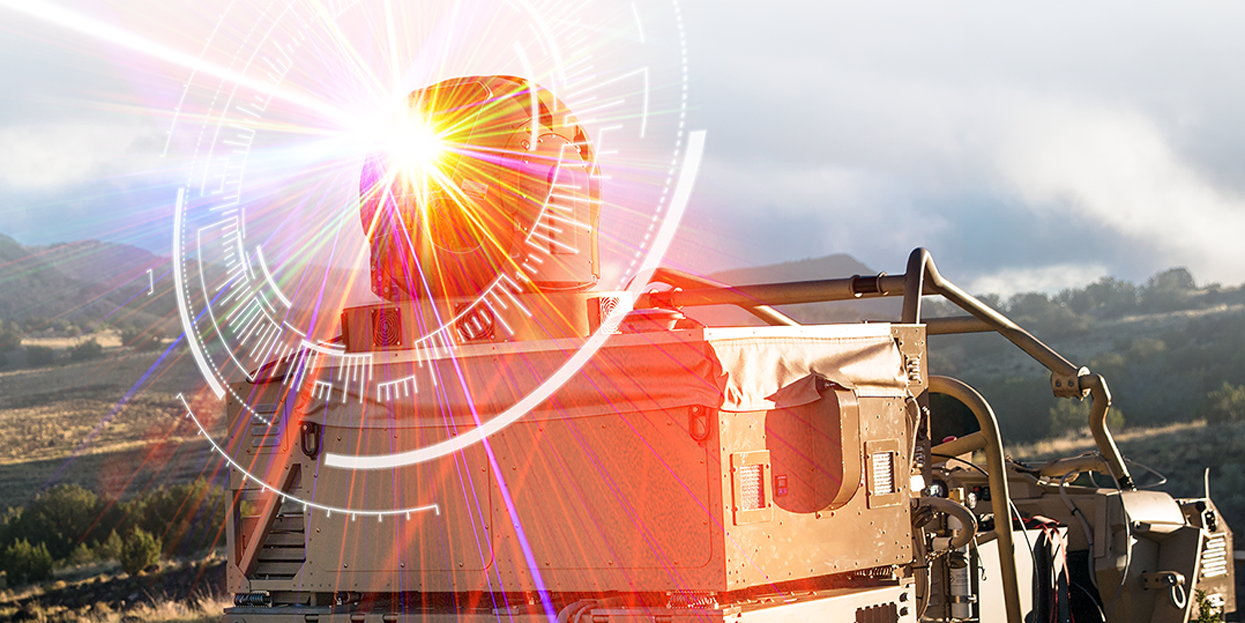 High energy lasers will improve battlefield operations through increased intelligence, surveillance and reconnaissance capabilities, not to mention the counter-unmanned aerial system properties, experts say. Credit: Photo Courtesy of Raytheon