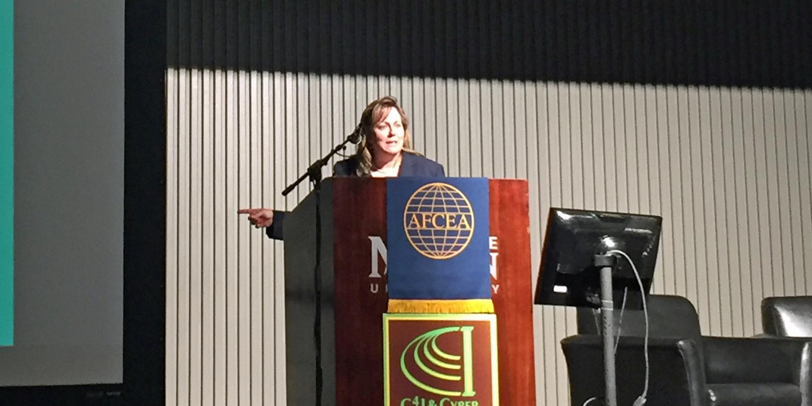 During her morning keynote, Stempfley stressed the importance of using analytics to create situational awareness in cybersecurity.