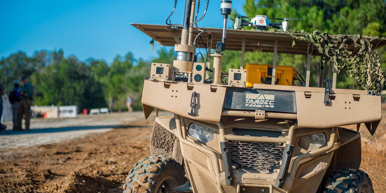 The U.S. Army conducts a demonstration of robotic and autonomous systems at Fort Benning, Georgia. Service officials want to design a Remote Combat Vehicle more lethal and maneuverable than an Abrams tank. Photo credit: Patrick A. Albright