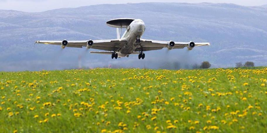 A NATO AWACS takes off from Forward Operating Location Ørland in Norway during during a training exercise. This summer's Unified Vision will allow NATO officials to assess a variety of intelligence, surveillance and reconnaissance capabilities.Credit:Photo courtesy of NATO E-3A Component Public Affairs Office