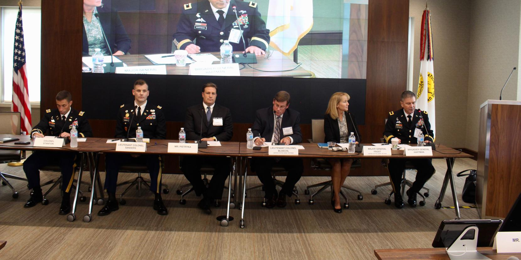 After 10 rotations with brigades, the Army's Cyber-Electromagnetic Activities (CEMA) teams are hitting their stride, Army experts explain at an Association of the U.S. Army event August 2. Photo credit: Anna Neubauer